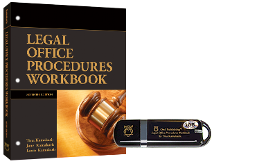Legal Office Procedures Workbook